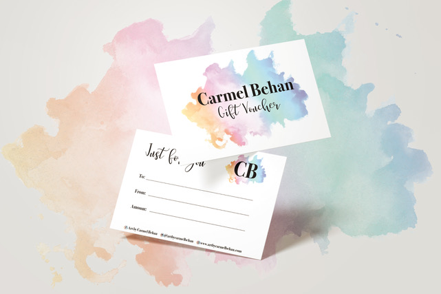Art by Carmel Behan gift Voucher